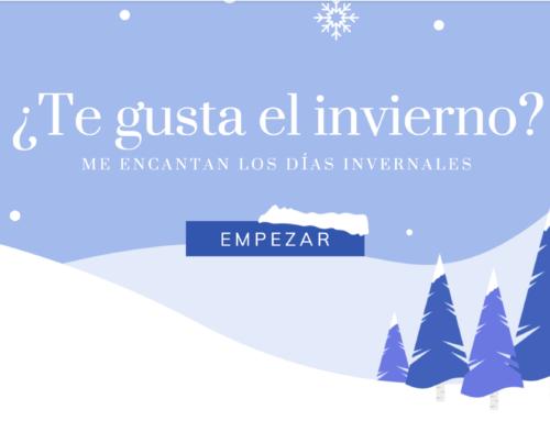 Vocabulario del invierno